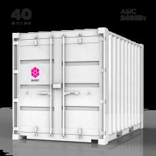 Контейнер 40 футов для 768x ASIC | 2400Вт | базовый комплект